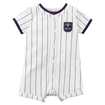 Carter's Baby Boys' Snap Up Romper, Mvp Baseball