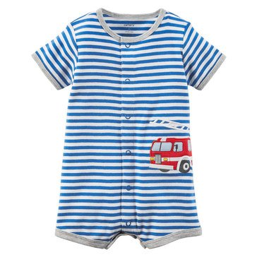 Carter's Baby Boys' Snap Up Romper, Super Dog