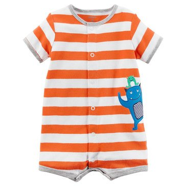 Carter's Baby Boys' Snap Up Romper, Monster