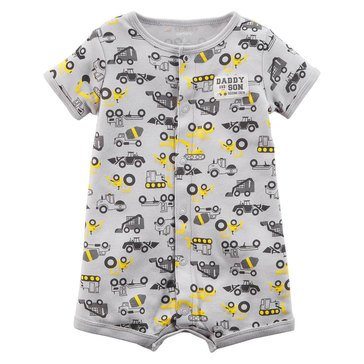 Carter's Baby Boys' Snap Up Romper, Construction