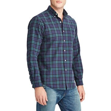 Polo Ralph Lauren Men's Iconic Plaid Oxford Shirt