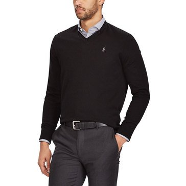 Polo Ralph Lauren Men's V-Neck Merino Wool Sweater