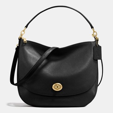 Coach Turnlock Hobo Black