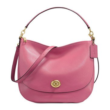 Coach Turnlock Hobo Rouge