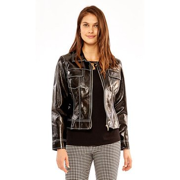 Skye's The Limit Women's Patent Pleather Jacket
