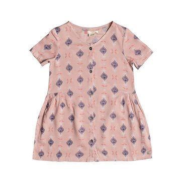 Roxy Little Girls' All You Need is Sun Print Woven Dress