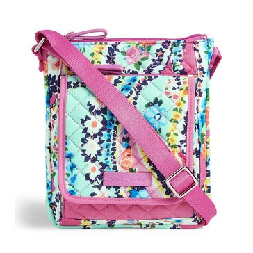 Vera Bradley Iconic Mini Hipster Wildflower Paisley
