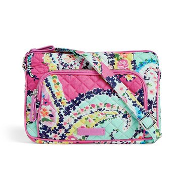 Vera Bradley Iconic Little Hipster Wildflower Paisley