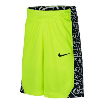 Nike Big Boys' Avalanche Dry Shorts, Yellow