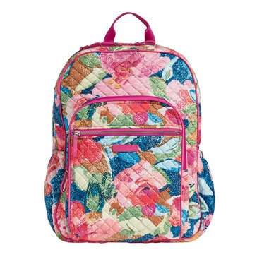 Vera Bradley Iconic Campus Backpack Superbloom