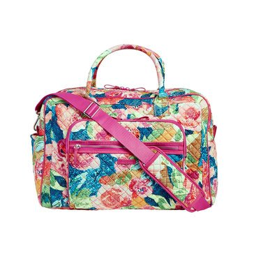 Vera Bradley Iconic Weekender Travel Bag Superbloom