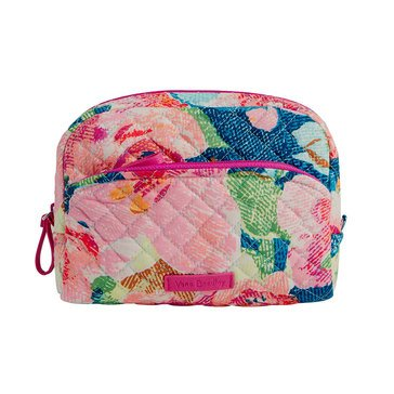 Vera Bradley Iconic Medium Cosmetic Superbloom