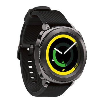 Samsung Gear Sport Smartwatch, Black