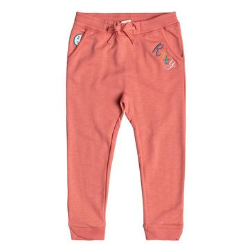 Roxy Little Girls' Catching Feelings Pant, Porcelain Rose