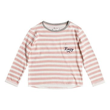 Roxy Little Girls' Ocean Of Story Stripe Tee