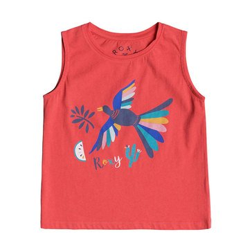 Roxy Little Girls' Some Others Screen Tee, Porcelain Rose
