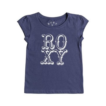 Roxy Little Girls' My Sun My Earth Tee, Blue