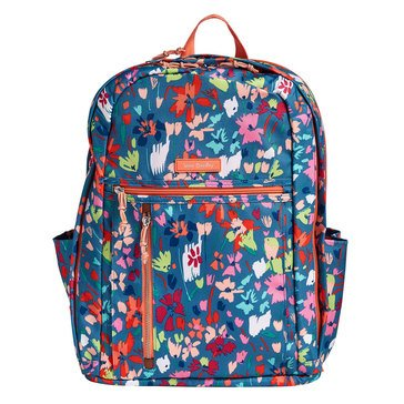 Vera Bradley Lighten Up Grand Backpack Superbloom Sketch