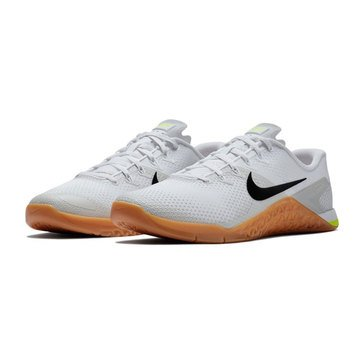 Nike Metcon 4 Men's Training Shoe, White/Black/LightBone/GumMediumBrown