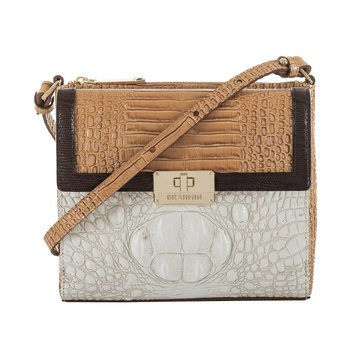 Brahmin Manhattan Crossbody Coconut Kedima