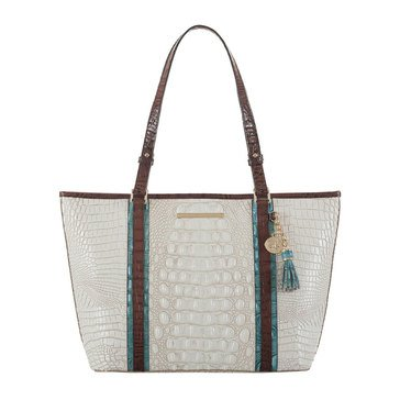 Brahmin Medium Asher Tote Coconut Soraya
