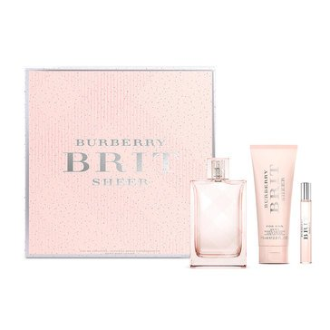 Burberry Brit Sheer for Her Set