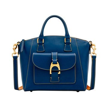 Dooney & Bourke Emerson Leather Naomi Satchel Midnight