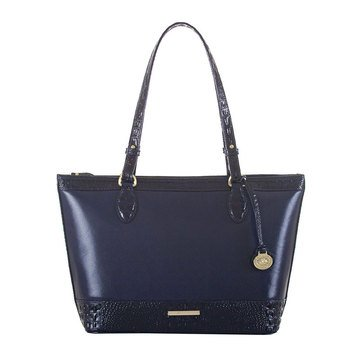 Brahmin Asher Tote Navy Quincy
