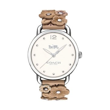 Coach Women's Delancey Beachwood Strap Watch, 36mm