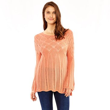 Skye's The Limit Women's Delicate Stitch Fit & Flair Sweater
