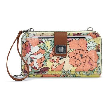 Sakroots Large Smartphone Crossbody Sunlight Flower Power