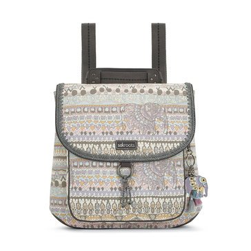 Sakroots Convertible Backpack Pastel One World