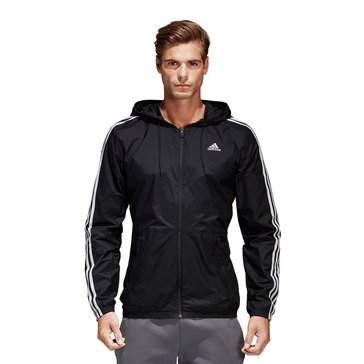 Adidas Essentials 3 Stripes Windbreaker
