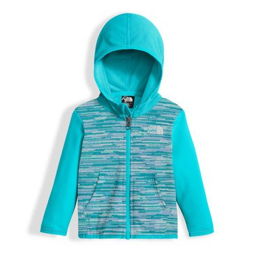 The North Face Baby Girls' Glacier Full Zip Hoodie