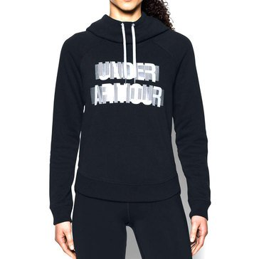 Under Armour Women's Favorite Pullover Word Hoodie