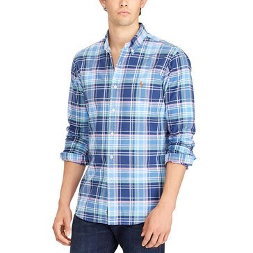 Polo Ralph Lauren Men's Long Sleeve Button Down Woven Sport Shirt