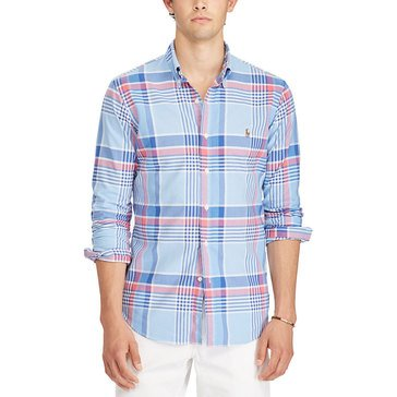 Polo Ralph Lauren Men's Woven Button Down Sport Shirt
