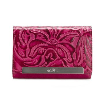 Patricia Nash Cametti Wallet Tooled Pink