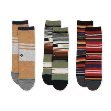 Stance Toddler Boys' Carew Socks, Box Set 3-4