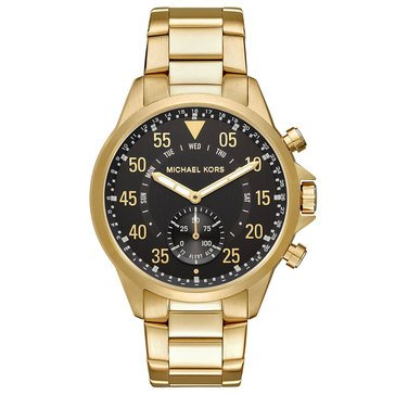 Michael Kors Men's Gage Gold Tone Smartwatch, 45mm