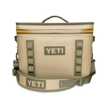 YETI Hopper Flip 18 - Field Tan / Blaze Orange