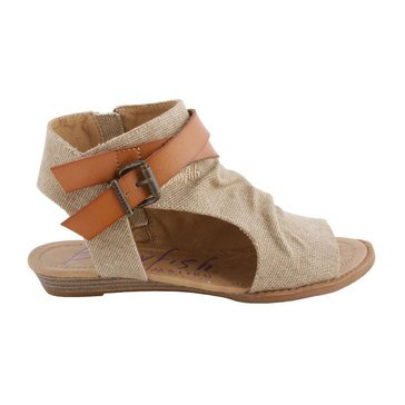 Blowfish Balla Low Wedge Sandal Sand