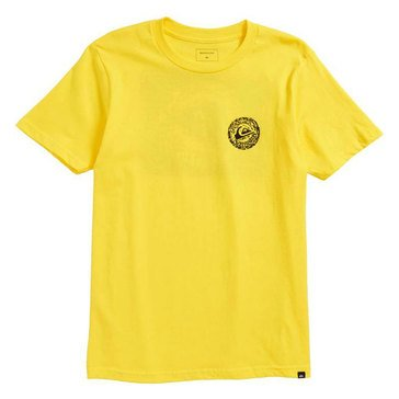 Quiksilver Big Boys' Elevens Tee, Buttercup