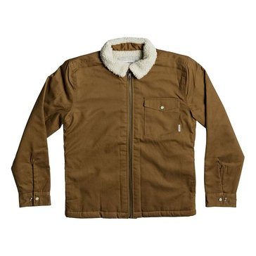 Quiksilver Big Boys' Dabein Jacket, Dark Brown