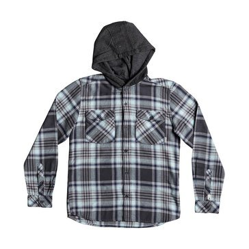 Quikailver Big Boys' Tang Hooded Flannel