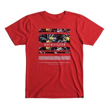 Quiksilver Little Boys' Stinger Tee, Red