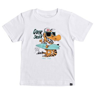 Quiksilver Little Boys' From Old Times Tee, Whote