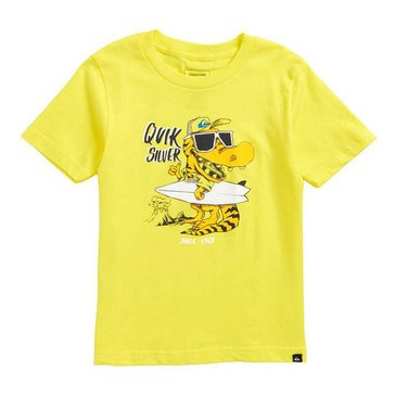 Quiksilver Little Boys' From Old Times Tee, Buttercup