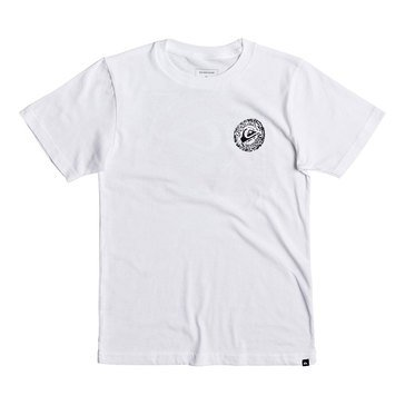 Quiksilver Little Boys' Elevens Tee, White