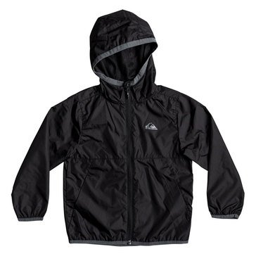 Quiksilver Little Boys' Contrasted Jacket, Black